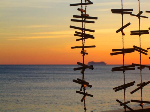 Sonnenuntergang auf Lesbos