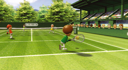 Screenshot von WiiSport Tennis