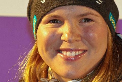Anja Pärson 2008 - Originalfoto von Christian Jansky