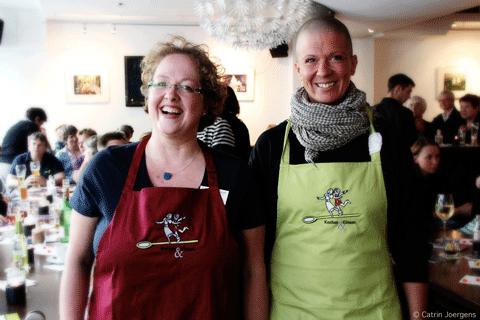 Nicole vom Ecco und Petra von den Amigas