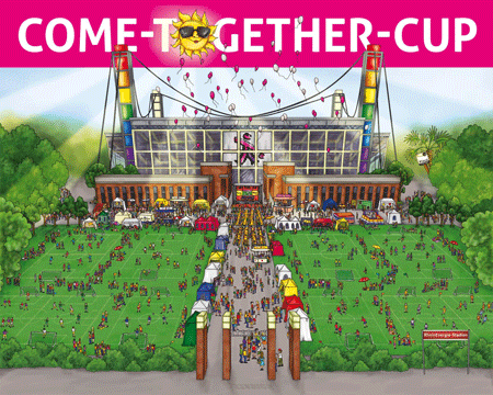 Plakat Come-Together-Cup