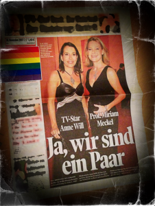 Coming Out von Will/Meckel in der BILD