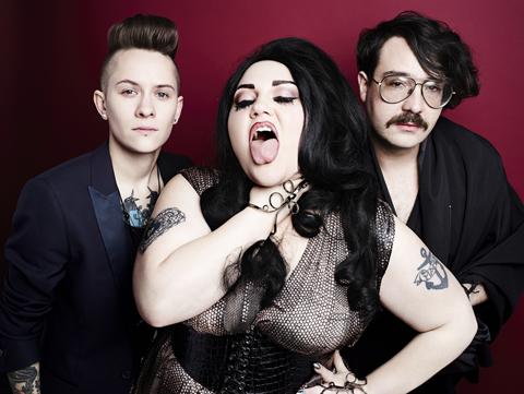 Die Band Gossip 2012