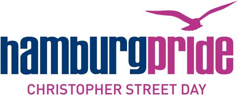 Das Logo des Hamburg Pride