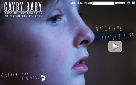 Gayby Baby Screenshot Homepage