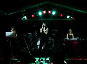 Junksista auf der Bühne