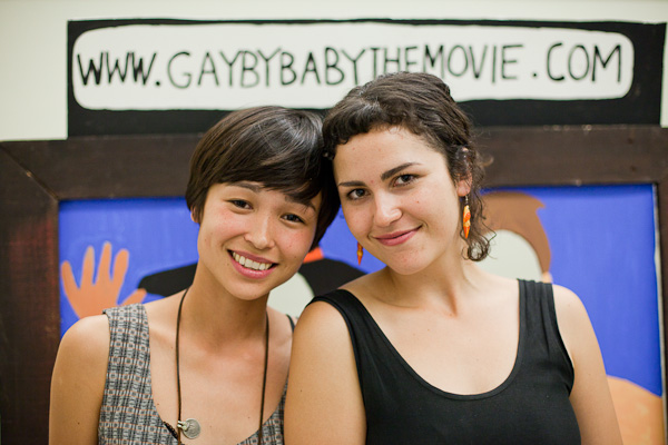 Gayby Baby Macherinnen Maya und Charlotte