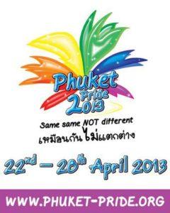 Logo Phuket Pride 2013