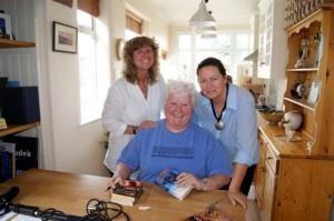 Alison, Carolyn & Val McDermid
