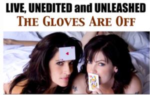 Porträts von DeBuono und Bennett für The Gloves are off