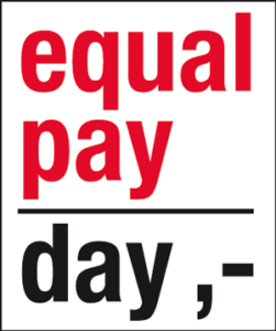 Logo Equal Pay Day 2013