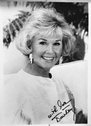 Doris Day Autogramm