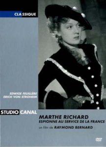 DVD Cover – Film über Marthe Richard