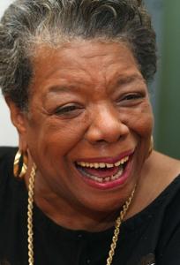 Porträt Maya Angelou von http://mayaangelou.com/media/photo/