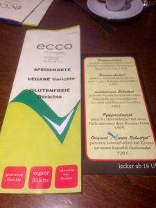 Vegan Ecco