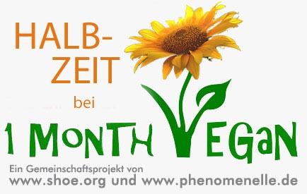 Logo 1 Monat Vegan – Halbzeit
