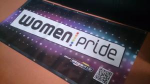 WomenPride Banner für Lesben-Aera CSD Köln
