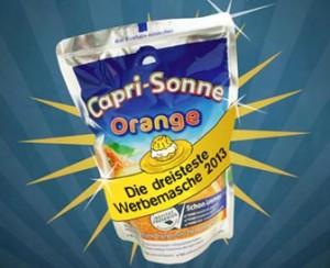 Goldener Windbeutel 2013 Capri-Sonne
