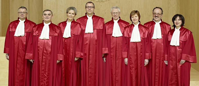 BVerG 2. Senat, Copyright © 2013 BVerfG