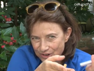 Screenshot aus A Conversation with Chantal Akermann // Venice 2011