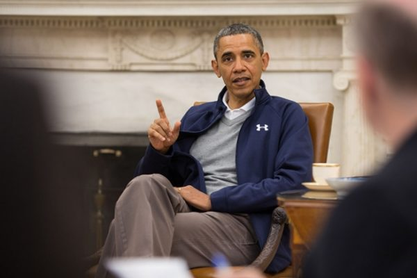 Obama Besuch – No, he couldn't