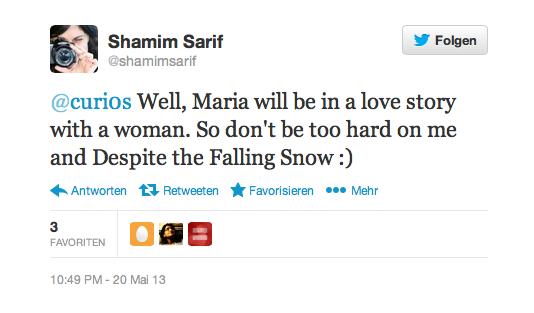 Shamim Sarif Twitter