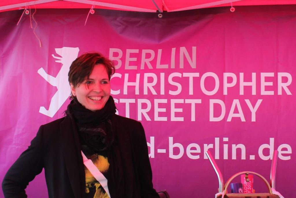 Sissy Kraus CSD Berlin