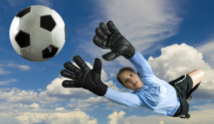Soccer Goalie © Pete Saloutos by shutterstock