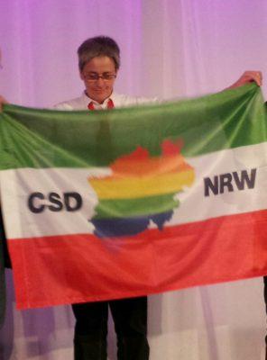 CSD-Macherinnen: Heide Hoffmann vom CSD Düsseldorf