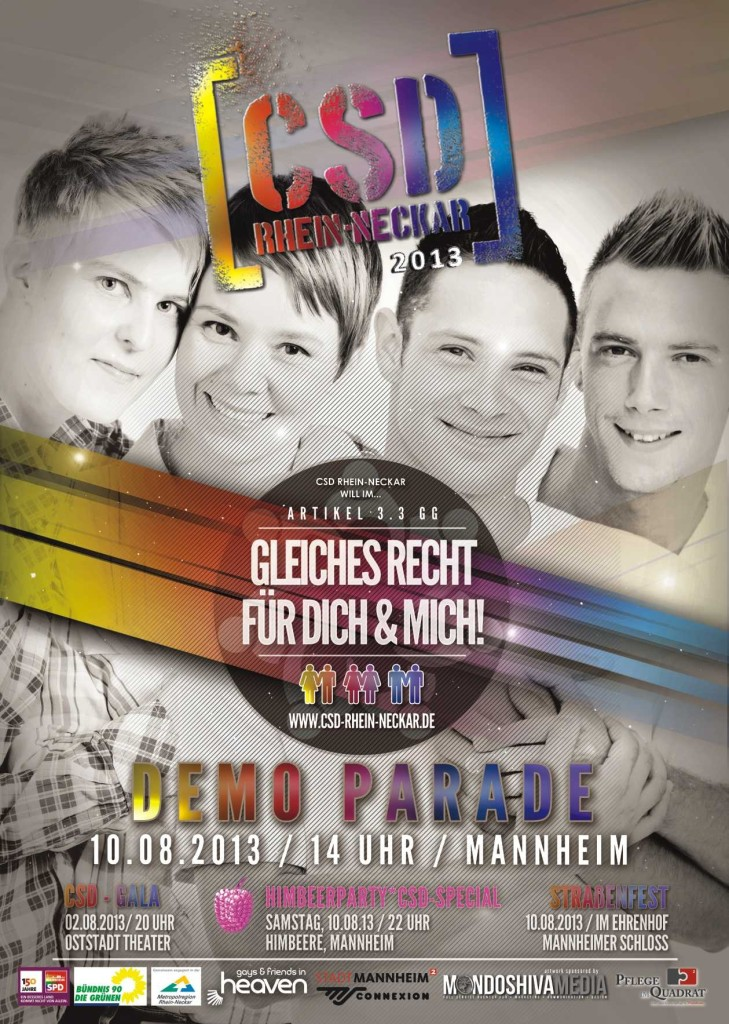 Plakat2013_CSD Rhein Neckar
