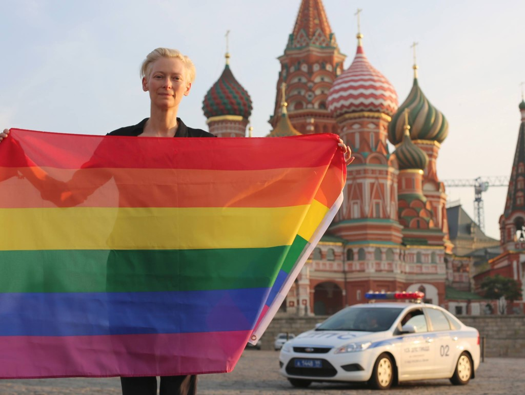 Tilda Swinton: From Russia with Love