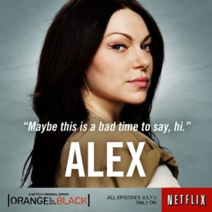 "Orange is the New Black – Cast ""Alex"""
