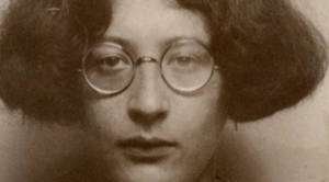 Simone Weil, © Screenshot Dokumentation An Encounter with Simone Weil