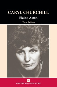 "Bookcover ""Caryl Churchill"" by Elaine Aston"