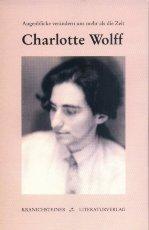 Buchcover Charlotte Wolff, Kranichsteiner Literaturverlag