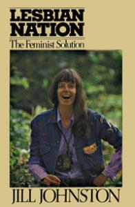 Buchcover Lesbian Nation, @jilljohnston.com