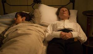 Hubert und Albert auf Alberts Bett