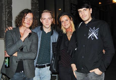 Die Band Jennifer Rostock, Foto: © Larissa