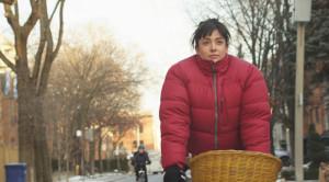 Margarita auf dem Fahrrad durch Toronto