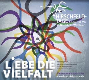 Plakatausschnitt Hirschfeld-Tage 2014