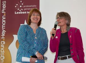 Augspurg-Heymann-Preis 2014, Gabriele Bischoff, Dr. Ann-Marie Krewer