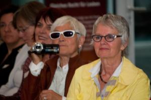 Augspurg-Heymann-Preis 2014, Dr. Marie Beckermann mit Lebensgefährtin