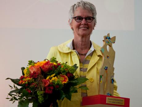 Augspurg-Heymann-Preis 2014 an Maria Beckermann verliehen