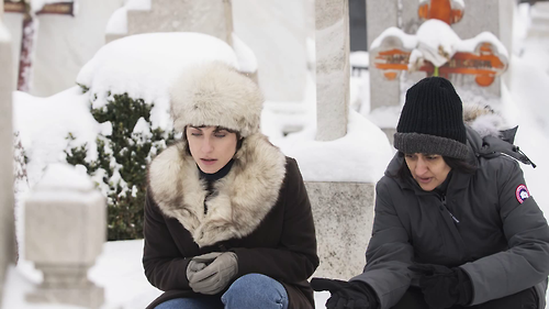 Dreharbeiten Despite the Falling Snow