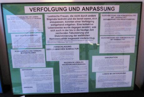 Verfolgung von Lesben im Nationalsozialismus, Bielefeld 16.5.2014, Hirschfeld-Tage 2014, © Christine Stonat