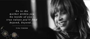 TinaTurner, Zitat zu Love within Beyond