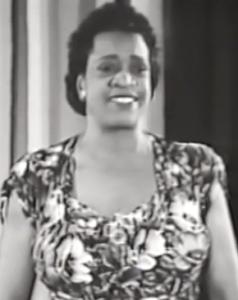 Screenshot aus Ida Cox sings the Blues, Quelle: YouTube
