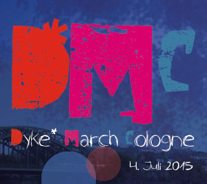 DMC Dyke March Cologne – 4. Juli 2015