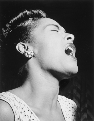 Billie Holiday, © William P. Gottlieb, ID gottlieb.04211, gemeinfrei