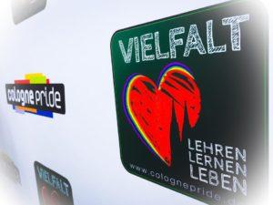ColognePride 2015, Motto: Vielfalt. Lehren. Lernen. Leben, @Sabine Arnolds